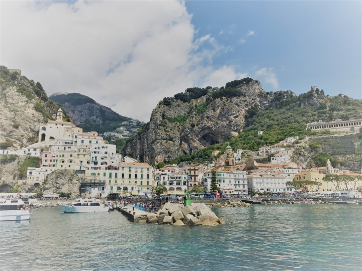 Amalfi from the water