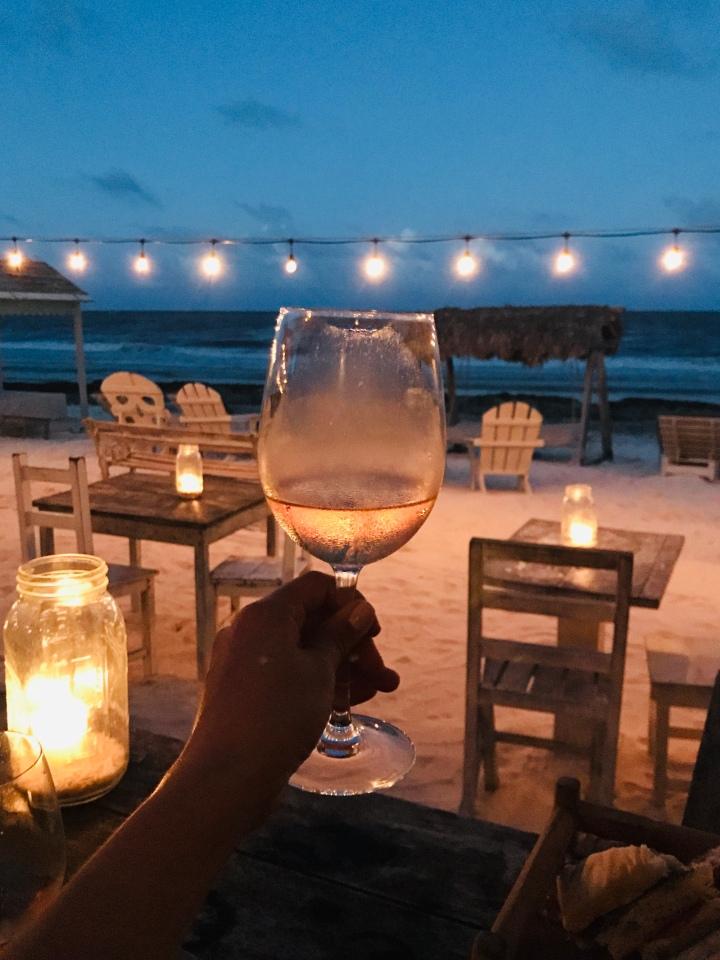 {Ocean views & rose at Posada Margherita in Tulum}