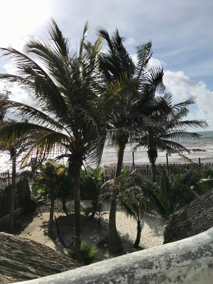 {View from Casa Laura at Zamas Hotel in Tulum}